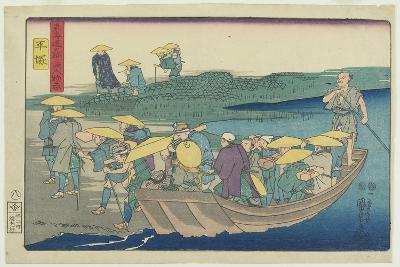 Hiratsuka, 1847-1852-Utagawa Kuniyoshi-Giclee Print