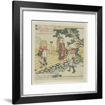 Hiratsuka, C. 1804-Katsushika Hokusai-Framed Giclee Print