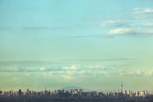 Skyscape of the Tokyo Area by Hiroshi Watanabe