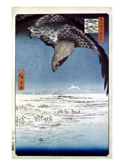Hiroshige: Edo/Eagle, 1857-Ando Hiroshige-Giclee Print