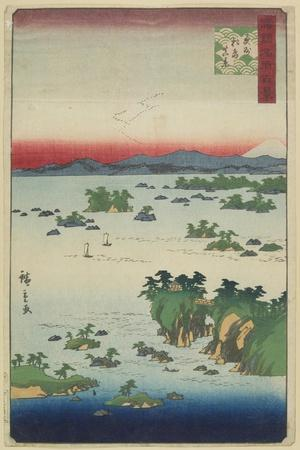 Actual View of Matsushima, Oshu Province, May 1859