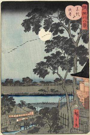Autumn Moon over the Matsuchiyama Hill November 1861
