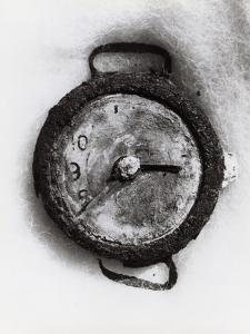Hiroshima Explosion Was Recorded at 8:15 A.M. on a Wrist Watch Found in the Ruins