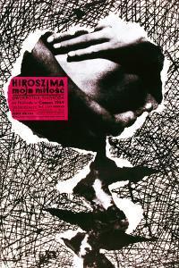 Hiroshima Mon Amour, (AKA Hiroszima Moja Milosc), Polish Poster, 1959