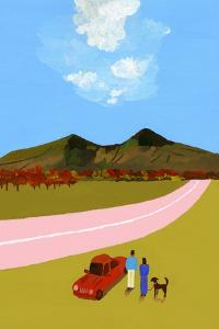 A road trip with the couple and their dog by Hiroyuki Izutsu