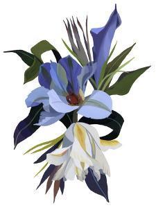 An imaginary flower based on the tulip motif by Hiroyuki Izutsu