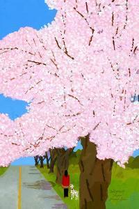cherry trees by Hiroyuki Izutsu