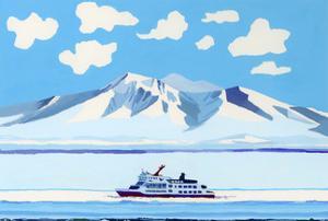drift ice ship by Hiroyuki Izutsu
