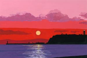 Enosima(Cape bay) by Hiroyuki Izutsu