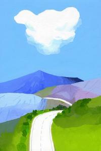 Mountain skyline by Hiroyuki Izutsu