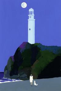 Night lighthouse by Hiroyuki Izutsu