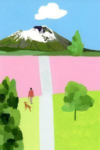 Pink Hill by Hiroyuki Izutsu