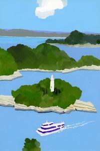 Sightseeing boat by Hiroyuki Izutsu