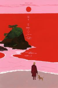 The sunset coast by Hiroyuki Izutsu