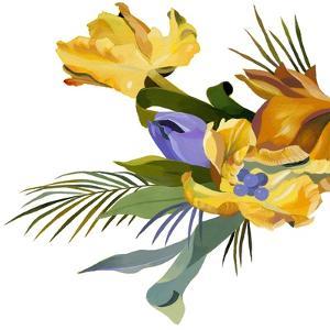 Yellow tulip by Hiroyuki Izutsu