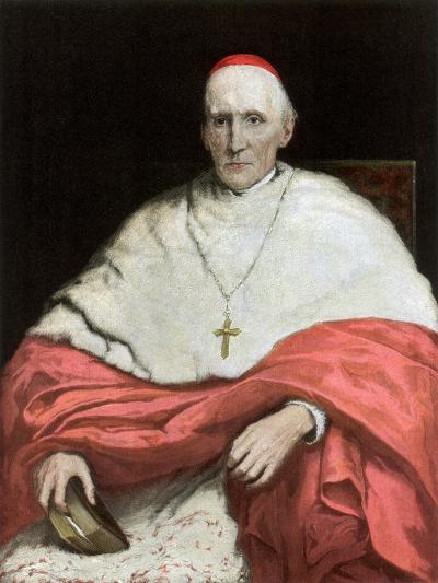 His Eminence Cardinal Manning, 1889-Walter William Ouless-Giclee Print