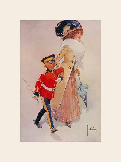 His First Engagement-Lawson Wood-Premium Giclee Print