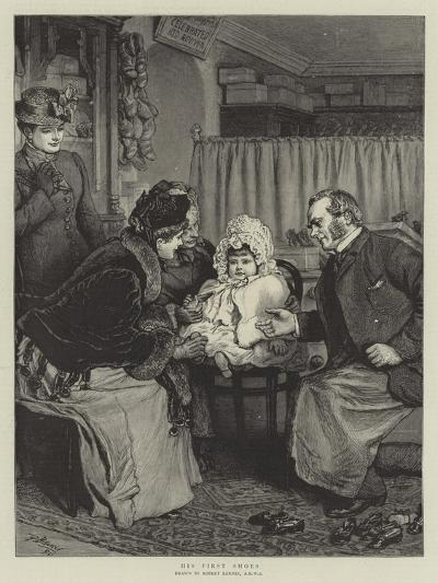 His First Shoes-Robert Barnes-Giclee Print