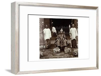 His Highness Oba (King) Aderemi I, the Oni of Ile Ife, Yorubaland, Nigeria, c.1930