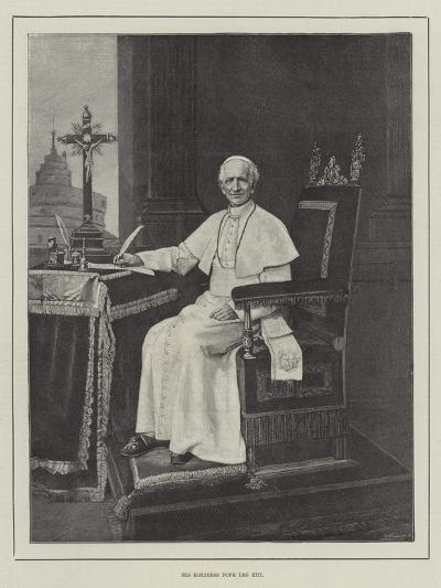 His Holiness Pope Leo XIII--Giclee Print