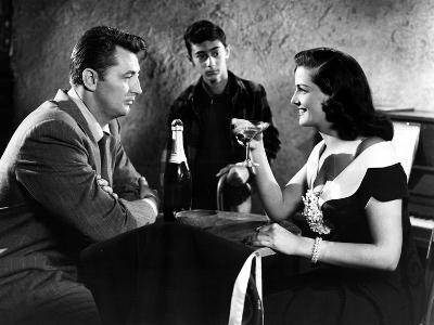His Kind Of Woman, Robert Mitchum, Jane Russell, 1951--Photo