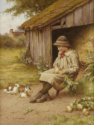 His Last Investment-Charles Edward Wilson-Giclee Print