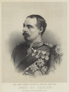 His Late Royal Highness Prince Leopold, Duke of Albany