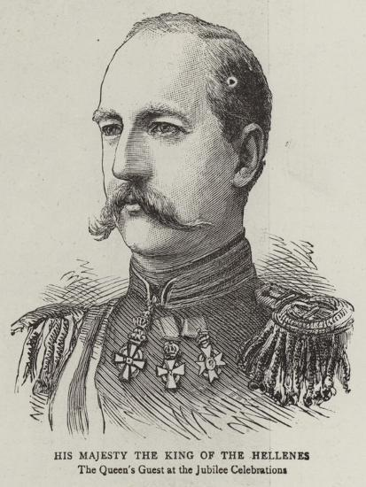 His Majesty the King of the Hellenes--Giclee Print