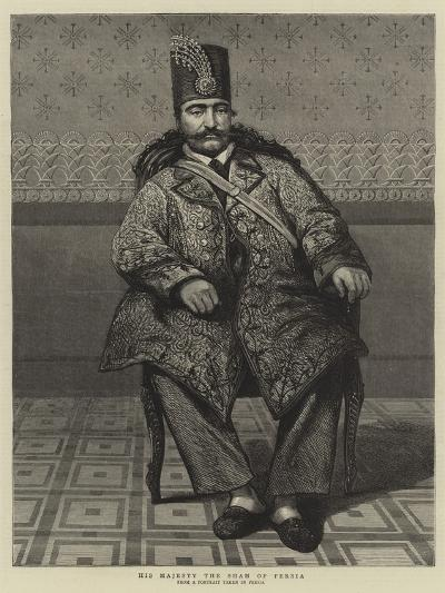 His Majesty the Shah of Persia--Giclee Print