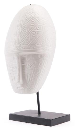 His Mask White Matt White--Home Accessories