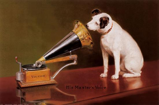 His Master's Voice-Unknown-Art Print