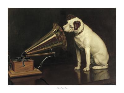 His Master's Voice-Francis Barraud-Giclee Print