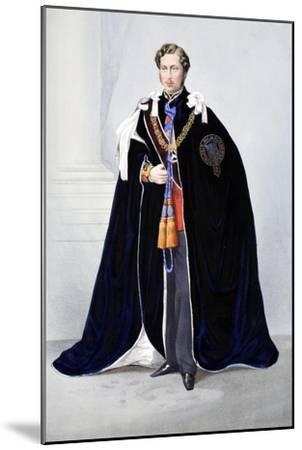 His Royal Highness--Mounted Giclee Print