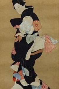 Dancer by Hishikawa Moronobu
