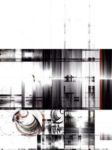 Abstract Techno Design by Hisoka