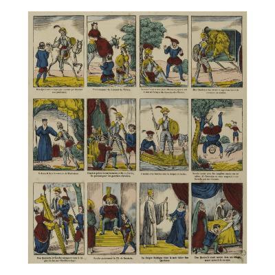 Histoire de don Quichotte--Giclee Print