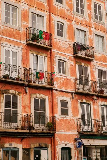 Historic and popular tourist area, Barrio Alta, Lisbon/Lisboa Portugal--Photographic Print