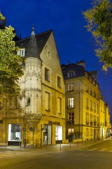 Historic Architecture C1620 in the Marias, Paris, France-Brian Jannsen-Photographic Print