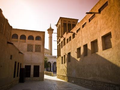 Historic Bastakia Quarter in Bur Dubai-Glenn Beanland-Photographic Print
