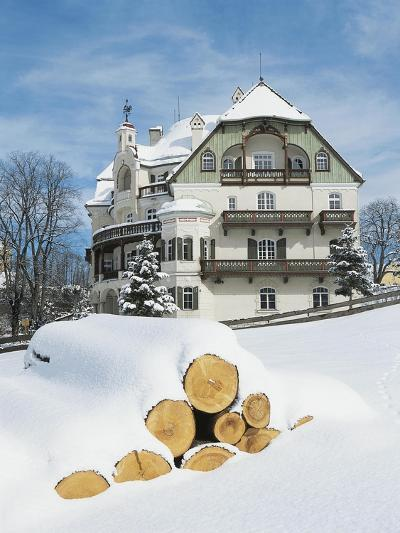 Historic Building Housing Alpenrose Am See Restaurant and Museum of Bavarian Kings--Giclee Print