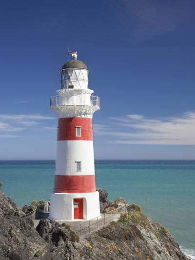 Historic Cape Palliser Lighthouse (1897), Wairarapa, North Island, New Zealand-David Wall-Photographic Print