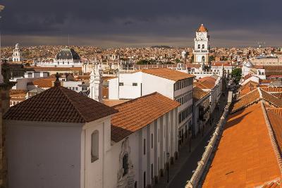 Historic City of Sucre Seen from Iglesia Nuestra Senora De La Merced, Bolivia-Matthew Williams-Ellis-Photographic Print