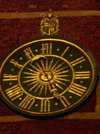 Historic Clock on Tower of Wawel Cathedral, Krakow, Malopolskie, Poland-Krzysztof Dydynski-Photographic Print