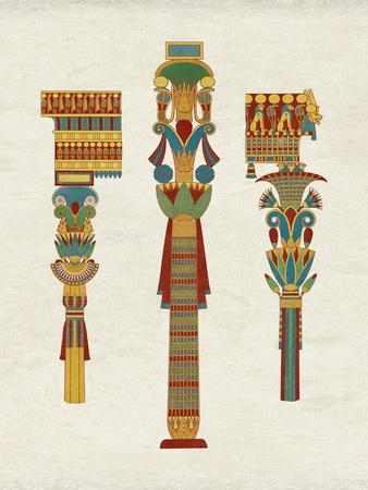Egyptian Treasures - Pillar
