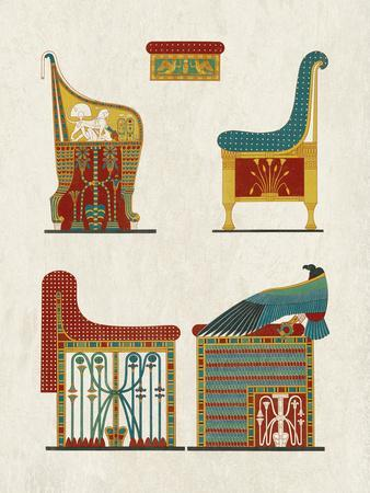 Egyptian Treasures - Throne