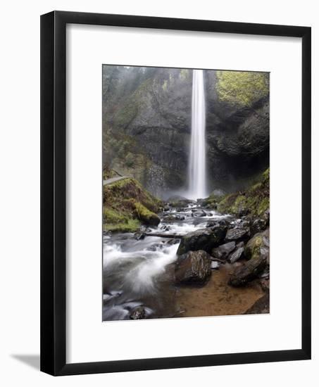 Historic Columbia River Highway-Rick Bowmer-Framed Photographic Print