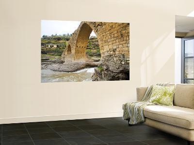 Historic Delal Bridge ('Beautiful Bridge'), Kurdistan-Tony Wheeler-Wall Mural