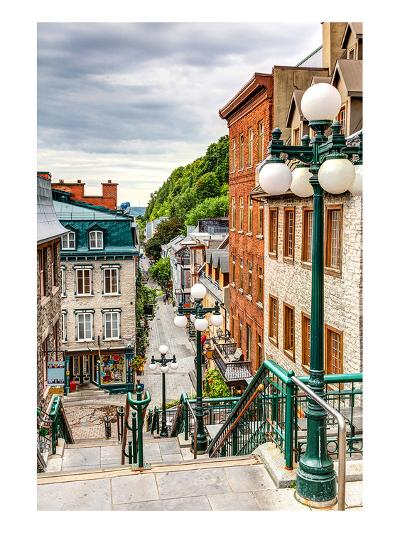 Historic District Old Quebec--Art Print