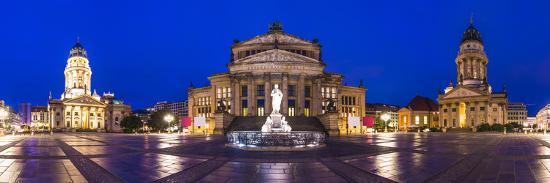 Historic Gendarmenmarkt Square in Berlin, Germany.-SeanPavonePhoto-Photographic Print