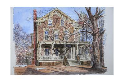 Historic Home, Westfield, Nj, 2010-Anthony Butera-Giclee Print